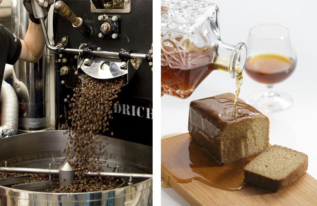 金澤ロワイヤル(カフェロワイヤル) コーヒーブランデーケーキ シロップイメージ